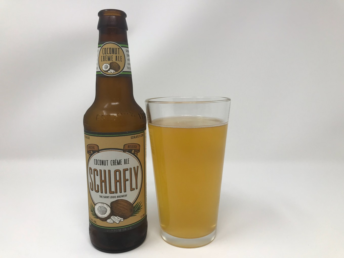 Schlafly Coconut Creme Ale