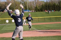 Dru Bowling went 3 for 5 and scored four runs for the Trojans.