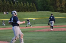 Dru Bowling came on in the second inning and picked up the win for Chambersburg with 5 2/3 scorless innings.