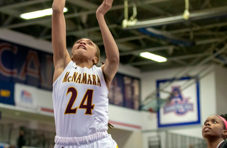 Bishop McNamara v. St. John's in WCAC Girls Basketball Semifinal (Photos)
