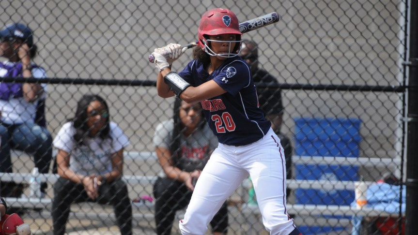 Howard Softball Defeated Twice at the Red & Black Showcase Finale