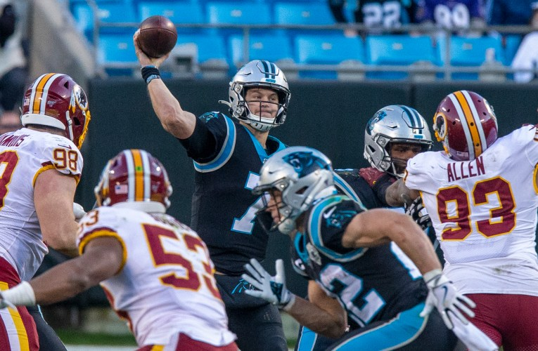 Redskins acquire former Carolina Panthers quarterback Kyle Allen