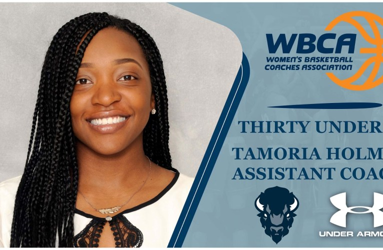 Holmes Selected to the 2020 WBCA Thirty Under 30 Honorees