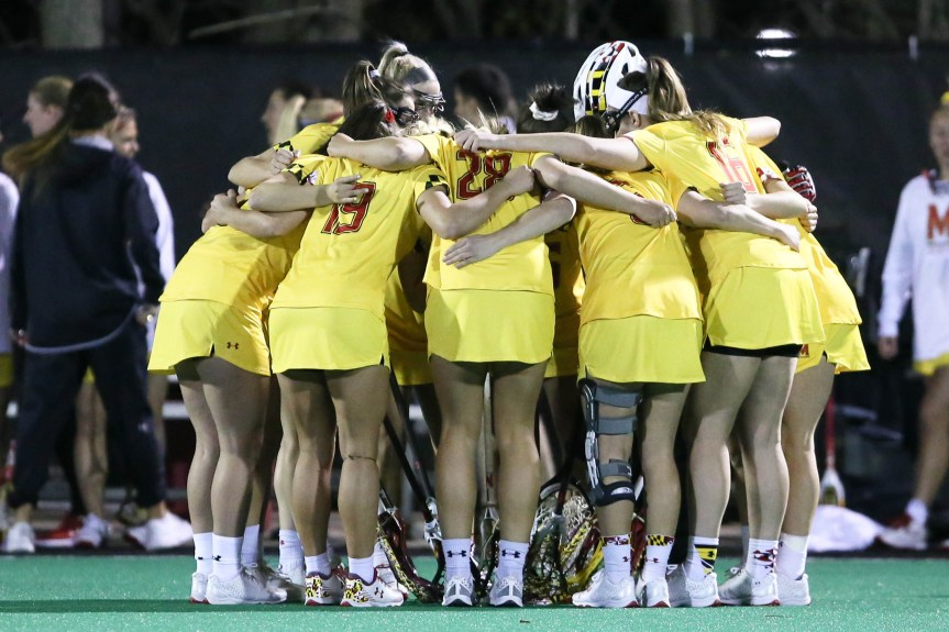 No. 10 Maryland takes down No.17 Navy (Photos)