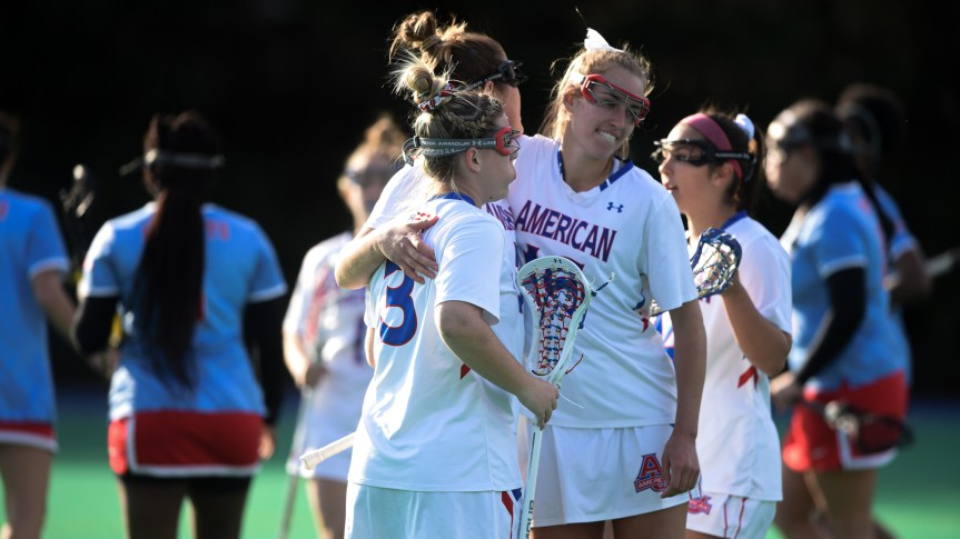 American Women's Lacrosse team completes first undefeated season