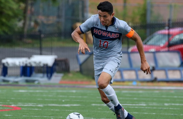 Get to know Silver Spring native, Bison midfielder Andres Gomez