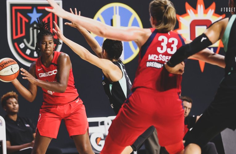 Despite career-high performance from Hines-Allen, Mystics fall short in OT
