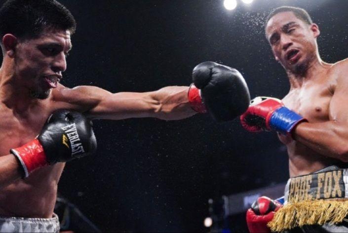 Mykal Fox loses to Luke Santamaria in Los Angeles