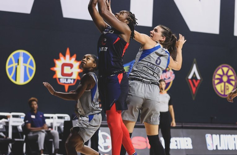 Mystics still playoff bound with close win over Lynx