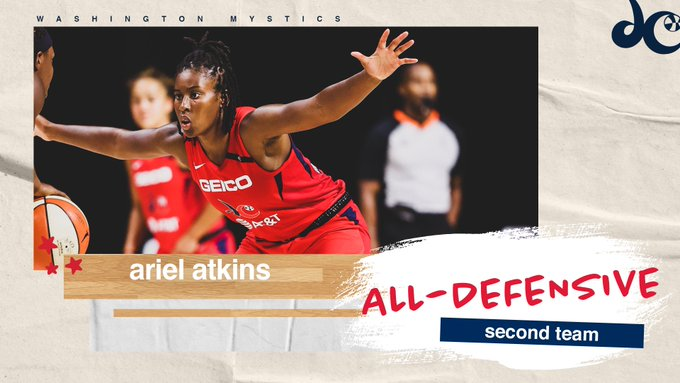 Atkins selected to WNBA All-Defensive Second Team