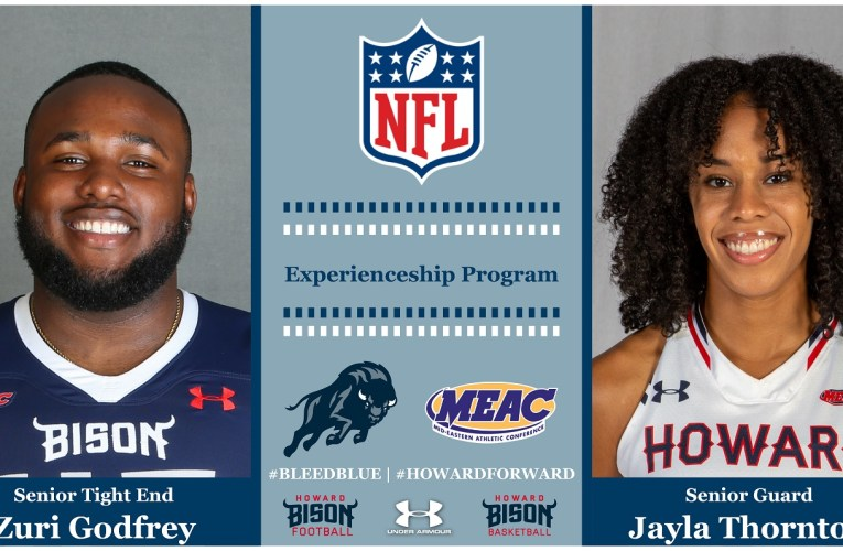 Bison student-athletes represent NFL in Experienceship Program