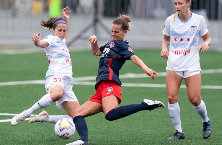 Late equalizer helps Spirit defeat shorthanded Red Stars