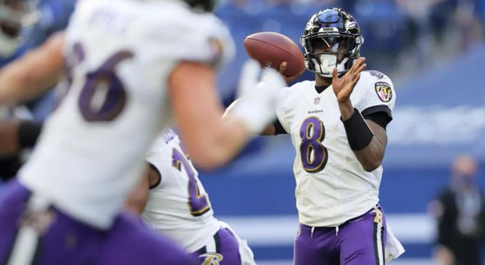 Despite trailing at halftime, Ravens control second half to defeat Colts, 24-10