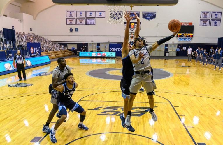 Georgetown falls in Big East debut to Villanova in second-half comeback