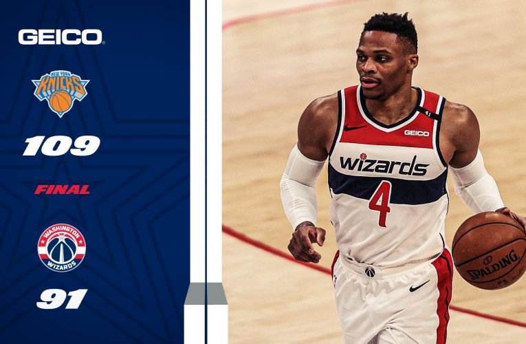 Wizards Fall Apart Against Knicks without Beal