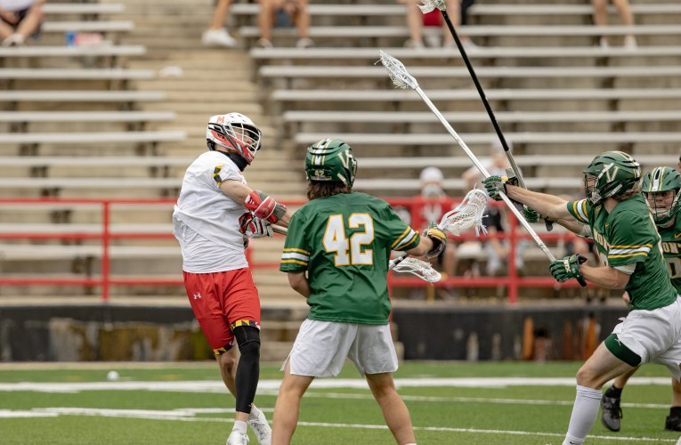 Maryland men's lacrosse beats Vermont in first round of NCAA Tournament