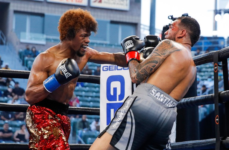 Gary Antuanne Russell dominates Santiago in return bout