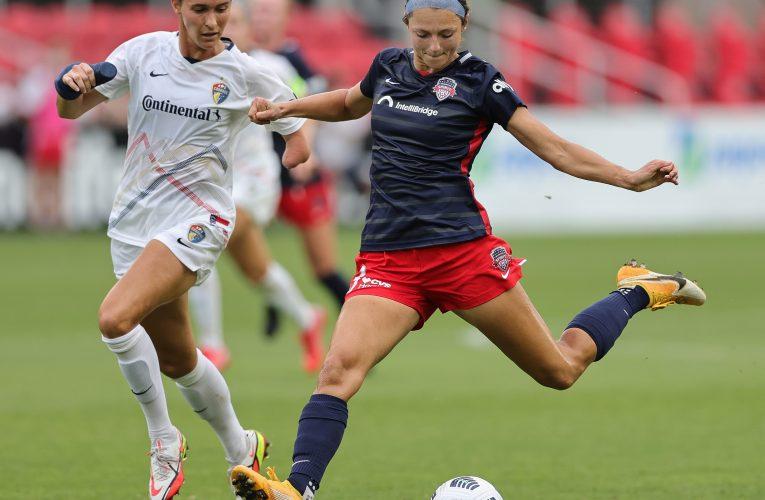 2021 NWSL Soccer: NC Courage vs Washington Spirit