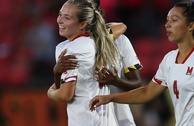 2021 NCAA Women's Soccer: George Washington vs Maryland