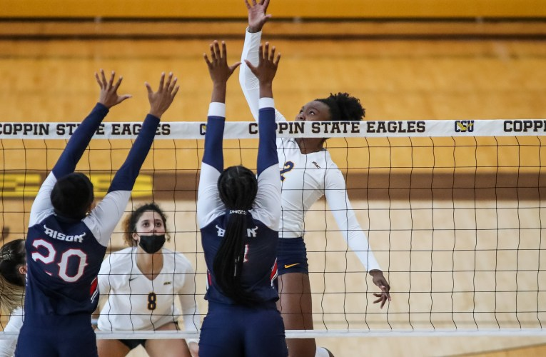 Coppin State defeats Howard 3-2 in MEAC volleyball action