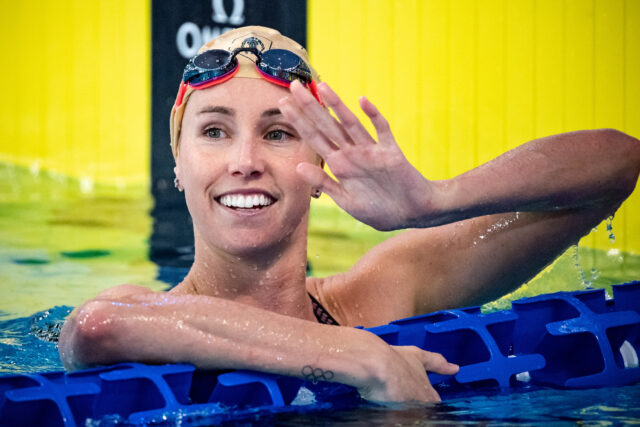 Emma McKeon Continues Sprint Siege With 50.58 SCM 100 Free, #2 Ever