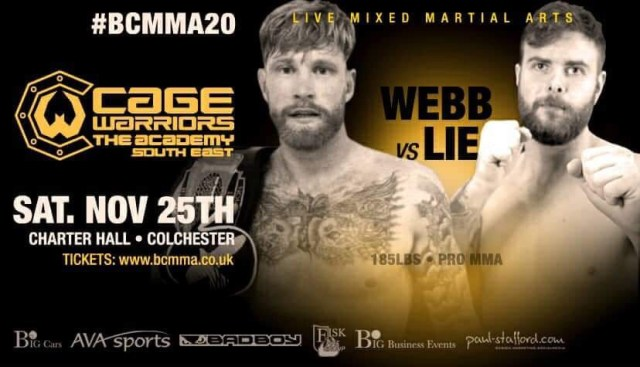 James Webb vs. Henrik Lie BCMMA 20 Poster