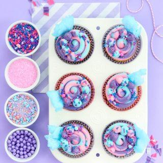 Super Easy Gorgeous Swiss Buttercream Cotton Candy Cake Funny Birthday Cards Online Hendilapandamsfinfo