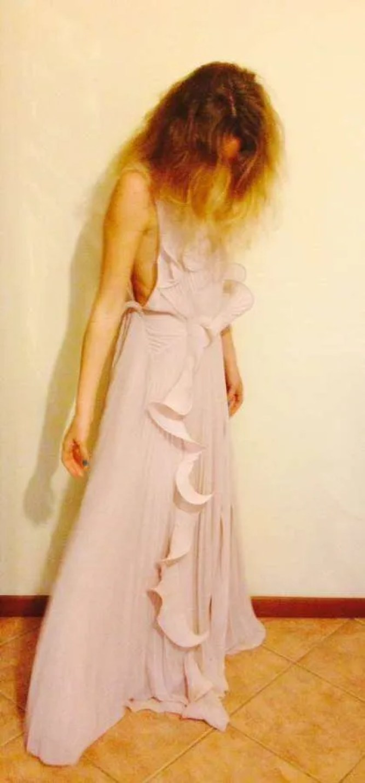 Pink dress!