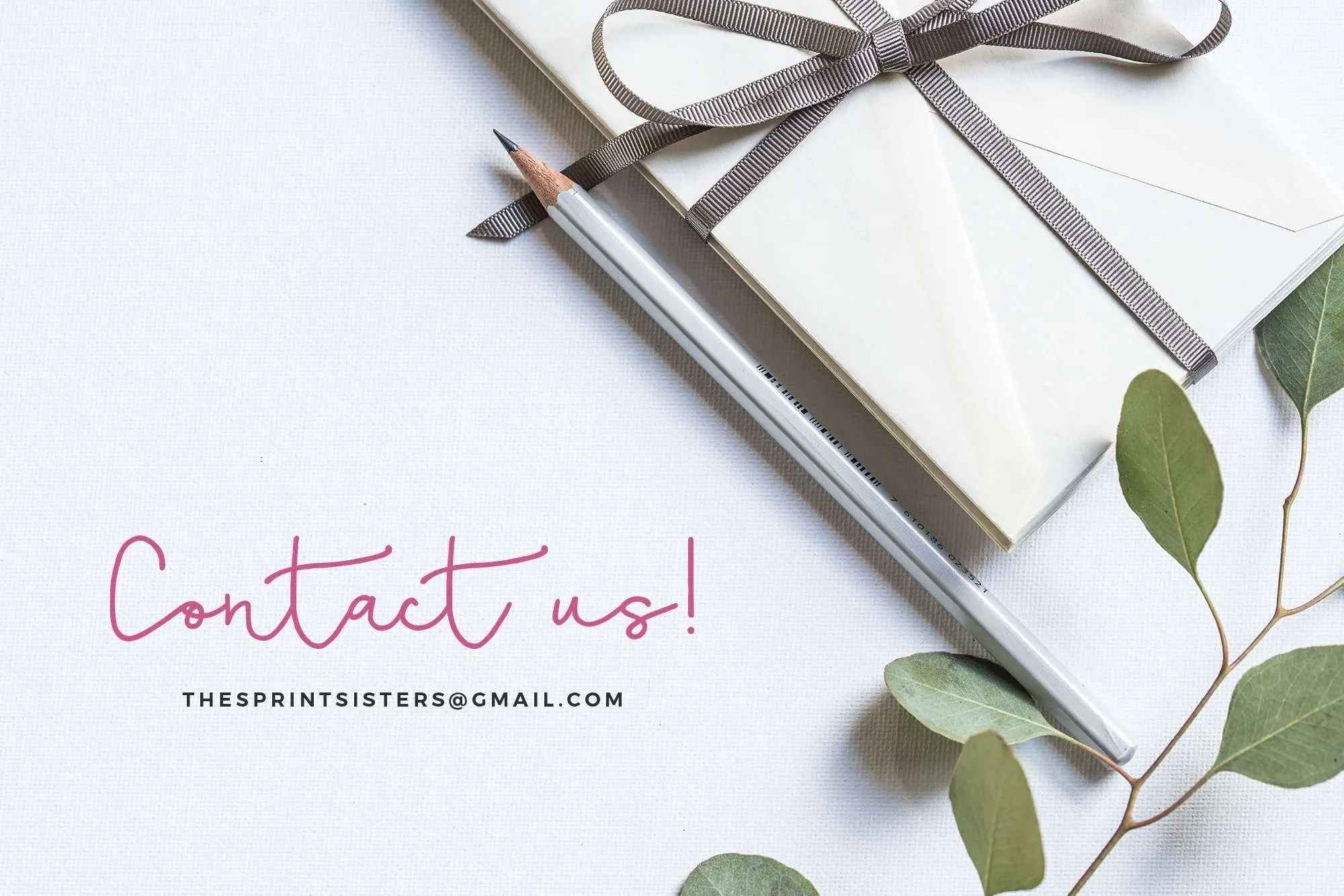 The Sprint Sisters - Contact us!