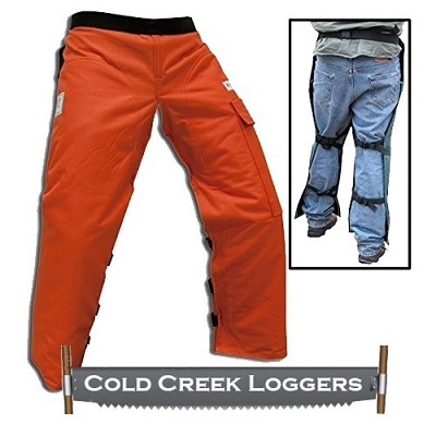 Cold Creek Chainsaw Apron with Pocket