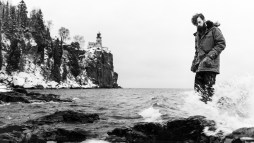Standing before Split Rock Lighthouse, I stayed warm and fought succumbing to the cold waters of Lake Superior.