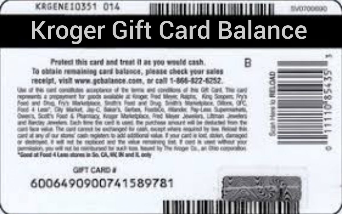 Kroger Gift Card Balance Check - How To Check Your Kroger Gift Card Balance
