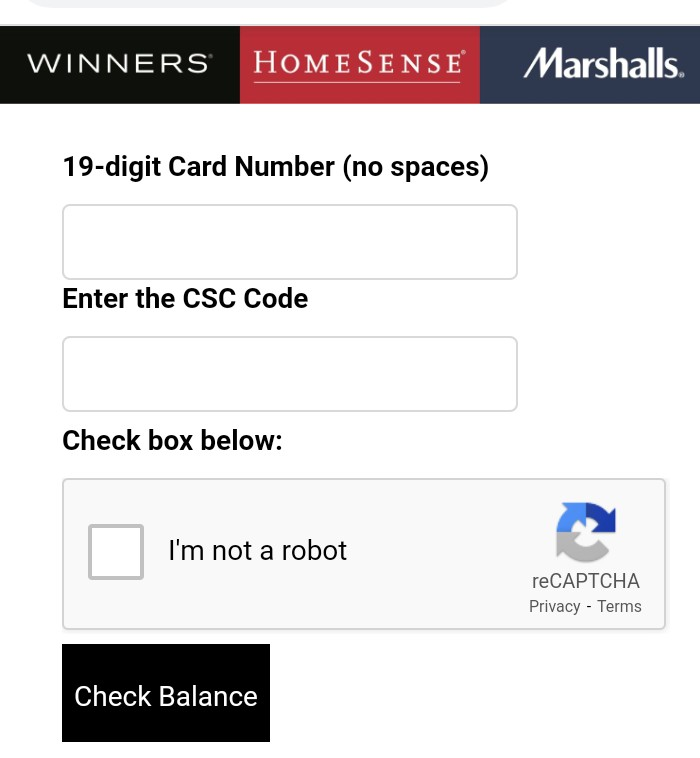 Marshalls Gift Card Balance Inquires - How To Check Your Marshalls Gift Card Balance