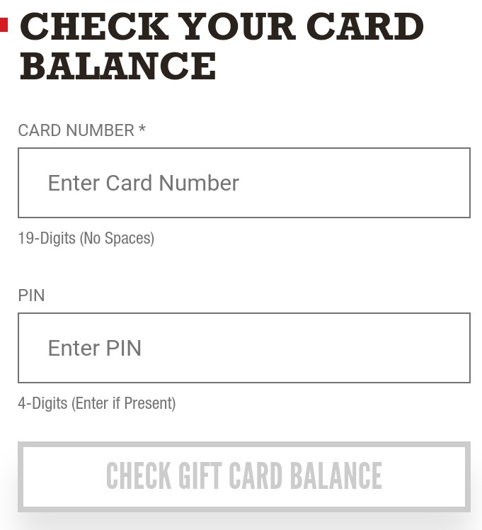 Arbys Gift Card Balance Check - How To Check Arby's Gift Card Balance