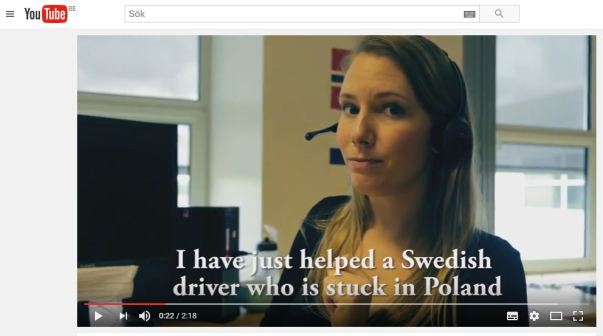 Petra featured in a video from Volvo trucks featuring jobs in Ghent