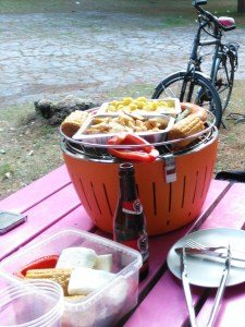 An outdoor BBQ is one of the best thigns to do in Ghent