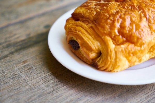Image of a pastry for breakfast in Gent