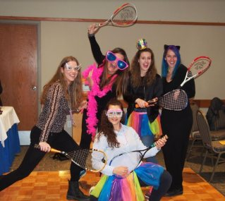 Saturday Night Social- Rebels with Racquets.