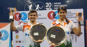 Asian Individuals : Ghosal and Chinappa in Indian double