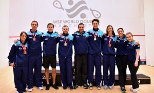 WSF World Doubles : Aussies seeded for triple Gold at home