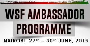 WSF Ambassadors head to Kenya