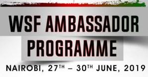 WSF Ambassadors head to Kenya