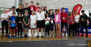 European Junior Open : Finals