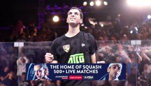 SquashTV Broadcast Schedule for 2019/20