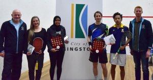 Squash Melbourne Open : Azman & Hedrick champs