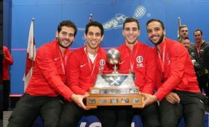 WSF Men's World Teams : Fifth title for Egypt