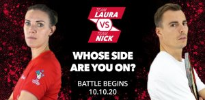 Team Laura v Team Nick is GO