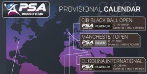 World Tour 2021 Provisional Calendar