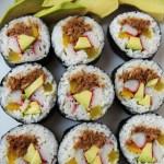 Kimchi Tuna Kimbap – Korean Sushi Rolls