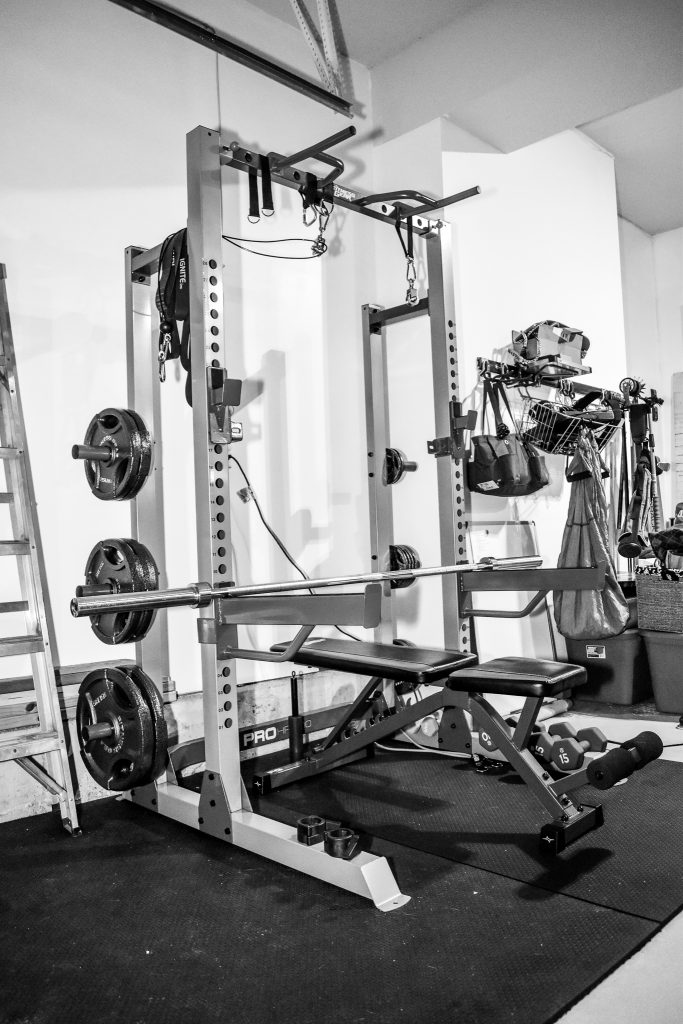 how i built my home gym fitness the